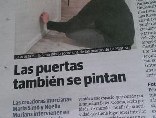En la prensa local. 12 deFebrero