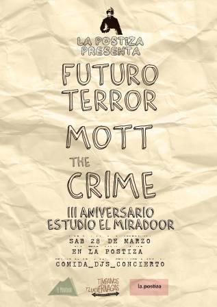 III Aniversario Estudio Miradoor. Marzo2015