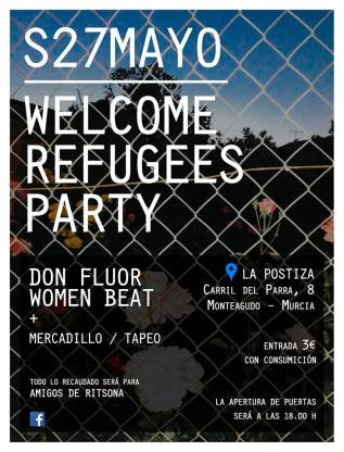 Welcome Refugees The Party