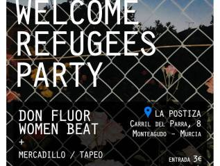 Welcome Refugees TheParty